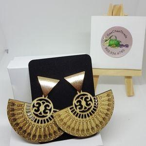 NWT- Wooden Earrings